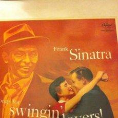 Discos de vinilo: FRANK SINATRA (SWINGIN´LOVERS !) - 1985- NUEVO. Lote 182377980