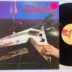 Discos de vinilo: DISCO LP VINILO EARTHSHAKER – EARTHSHAKER EDICION INGLESA DE 1983. Lote 182380305