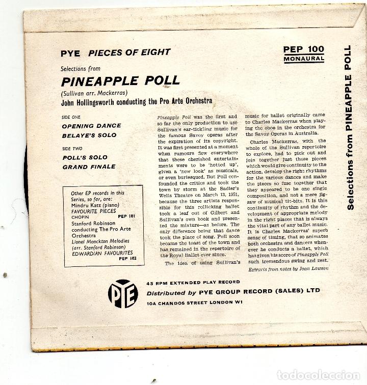 Discos de vinilo: SULLIVAN - PINEAPPLE POLL - SINGLE - Foto 2 - 182381938
