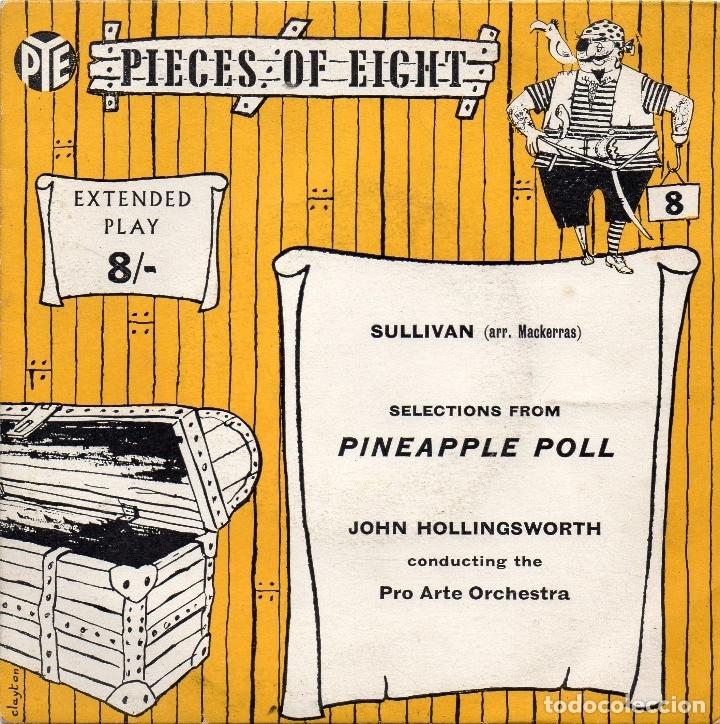 SULLIVAN - PINEAPPLE POLL - SINGLE (Música - Discos - Singles Vinilo - Clásica, Ópera, Zarzuela y Marchas)