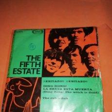 Discos de vinilo: THE FIFTH STATE. DING DONG. LA BRUJA ESTA MUERTA.SONO PLAY 1967. Lote 182387166