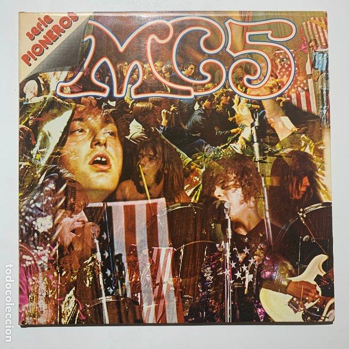DISCO LP VINILO GATEFOLD MC5 – KICK OUT THE JAMS EDICION ESPAÑOLA DE 1977 (Música - Discos - LP Vinilo - Punk - Hard Core)