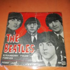 Discos de vinilo: THE BEATLES.STRAWBERRY FIELDS FOREVER.SINGLE.ESPAÑA 1967.ODEON.. Lote 182391966