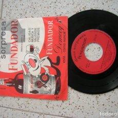 Discos de vinilo: DISCO DE FUNDADOR DE ALBERTINA CORTES. Lote 182392332