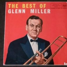 Discos de vinilo: LP-THE BEST OF GLENN MILLER-RCA-1961. Lote 182392766