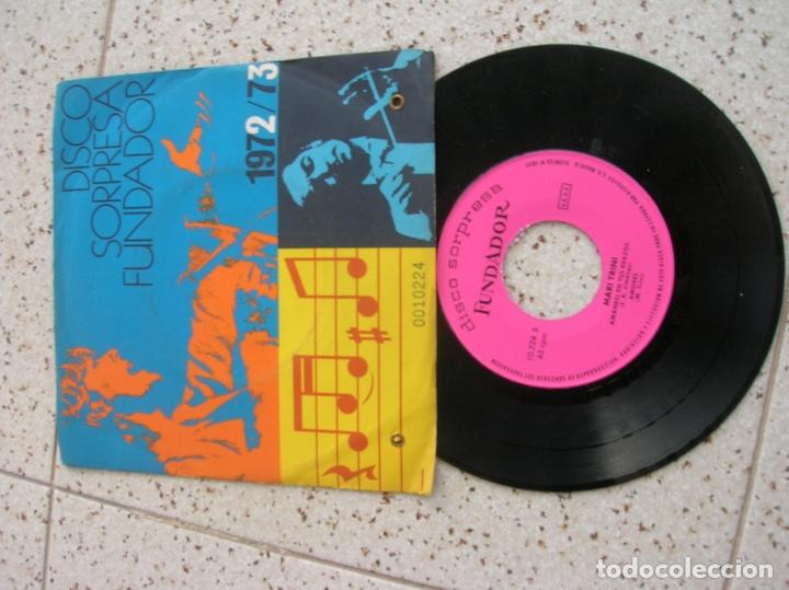 DISCO DE FUNDADOR MARI TRINI (Música - Discos de Vinilo - EPs - Cantautores Españoles)