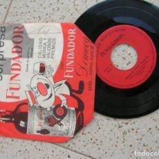 Discos de vinilo: DISCO DE FUNDADOR ,CANCIONES QUE TRIUNFAN ,FRANCISCO LARIE. Lote 182393236