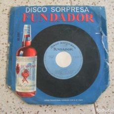 Discos de vinilo: DISCO DE FUNDADOR ALBERTINA CORTES AÑO 1965. Lote 182393388