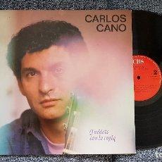 Discos de vinilo: CARLOS CANO. LP. QUÉDATE CON LA COPLA. EDITADO POR CBS. AÑO 1987. Lote 182396103