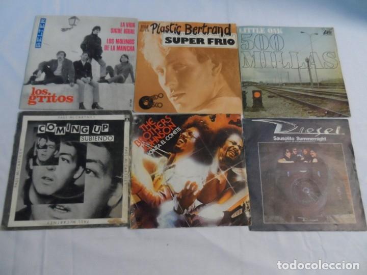 LOTE DE 25 SINGLES (Música - Discos - Singles Vinilo - Pop - Rock Extranjero de los 90 a la actualidad)