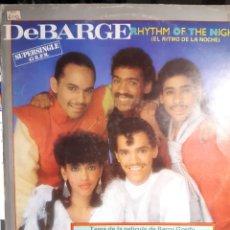 Discos de vinilo: DEBARGE-RHYTHM OF THE NIGHT. Lote 182402571