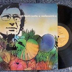 Discos de vinilo: NICOLA DI BARI. LP. CANTA A SUDAMÉRICA. EDITADO POR RCA. AÑO.1976. SPAIN.. Lote 182403253