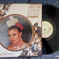 Discos de vinilo: ROCIO JURADO. CANCIONES DE ESPAÑA. LP. EDITADO POR EMI. AÑO. 1988. Lote 182404796