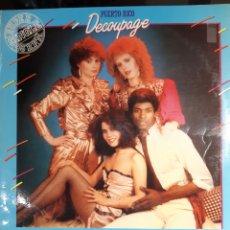Discos de vinilo: DECOUPAGE-PUERTO RICO. Lote 182405501