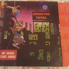 Discos de vinilo: SINIESTRO TOTAL ME GUSTA COMO ANDAS LP. Lote 182409490