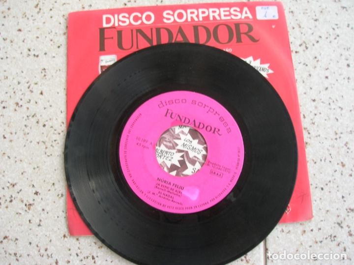 Discos de vinilo: DISCO EP DE FUNDADOR NURIA FELIU AÑO 1970 - Foto 2 - 182409567
