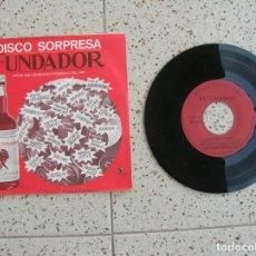 Discos de vinilo: DISCO DE FUNDADOR ,ESCUCHANDO AL MARQUES. Lote 182410113