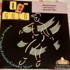 "Discos de vinilo: MICHAEL JACKSON THE JACKSONS 12"" INCH GOLD MAXI YOU FEEL IT VINILO. Lote 182412241"