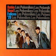 Discos de vinilo: LOS PEKENIKES - SINGLE, 45 RPM - HISPA VOX, H/164 - PRIMERA EDICIÓN 1967 - BUEN ESTADO. Lote 182415460