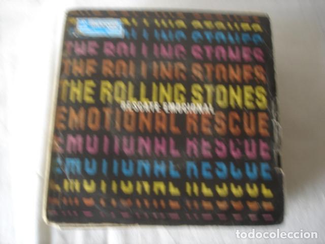 THE ROLLING STONES EMOTIONAL RESCUE = RESCATE EMOCIONAL (Música - Discos - Singles Vinilo - Pop - Rock - Extranjero de los 70)