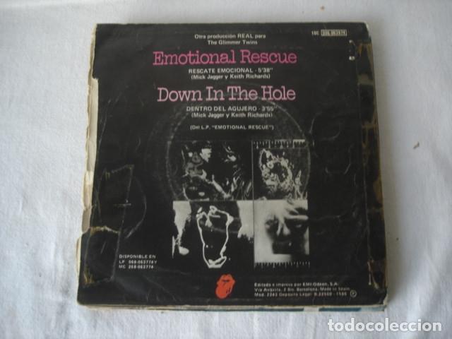 Discos de vinilo: The Rolling Stones Emotional Rescue = Rescate Emocional - Foto 2 - 182416232