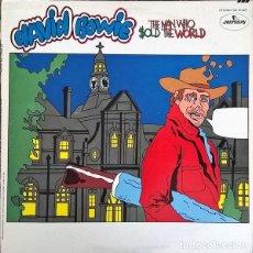 Discos de vinilo: DAVID BOWIE – THE MAN WHO SOLD THE WORLD. Lote 182416530