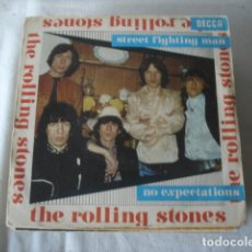 Discos de vinilo: THE ROLLING STONES STREET FIGHTING MAN / NO EXPECTATIONS . Lote 182421045