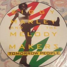Discos de vinilo: ZIGGY MARLEY TOMORROW PEOPLE PICTURE MAXI. Lote 182422587