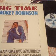 Discos de vinilo: SMOKEY ROBINSON BIG TIME EP MOTOWN. Lote 182424855