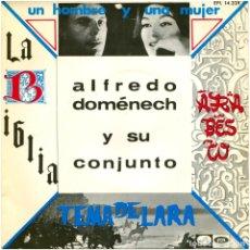 Discos de vinilo: ALFREDO DOMÉNECH Y SU CONJUNTO - ARABESCO - EP SPAIN 1967 - LA VOZ DE SU AMO EPL 14.328 . Lote 182429448