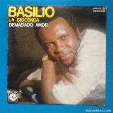 Discos de vinilo: BASILIO-LA GIOCONDA. Lote 182430772