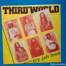 Discos de vinilo: THIRD WORLD. TRY JAH LOVE. Lote 182431222