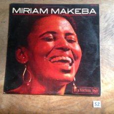 Discos de vinilo: MARIAM MAKEBA. Lote 182432406