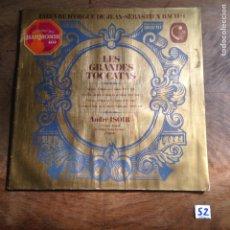 Discos de vinilo: LES GRANDES TOCCTAS. Lote 182432775