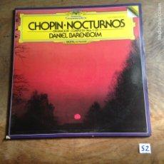 Discos de vinilo: CHOPOS - NOCTURNOS. Lote 182432895