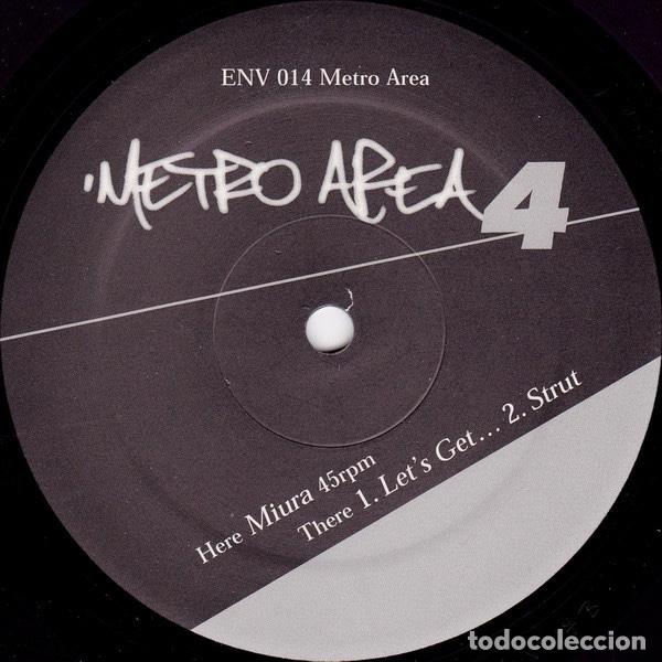 METRO AREA ?– METRO AREA 4 MORGAN GEIST AND DARSHAN JESRANI. (Música - Discos de Vinilo - EPs - Electrónica, Avantgarde y Experimental)