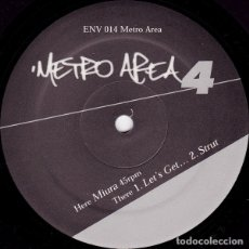 Discos de vinilo: METRO AREA – METRO AREA 4 MORGAN GEIST AND DARSHAN JESRANI.. Lote 182437440