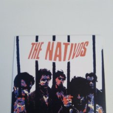 Discos de vinilo: THE NATIVOS SHE BELONGS TO ME + 3 ( 1985 MUNSTER REED ). Lote 182442308