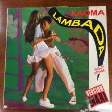 Discos de vinilo: LAMBADA. KAOMA. MAXI SINGLE.. Lote 182443812