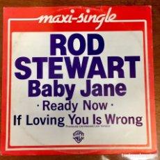 Discos de vinilo: ROD STEWART. LADY JANE. MAXI SINGLE.. Lote 182444451