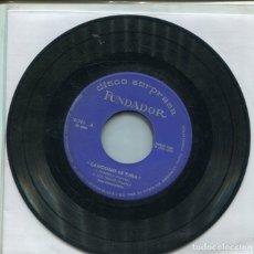 Discos de vinilo: MARCAS COMERCIALES - FUNDADOR 10.091 (CANCIONES DE TUNA) EP FUNDADOR 1966. Lote 289783213