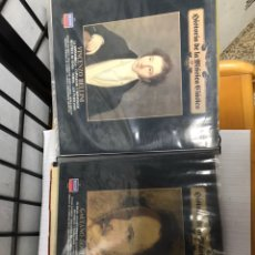 Discos de vinilo: ALBUM DISCOS SINGLE HISTORIA DE LA MUSICA CLASSICA. Lote 182454142