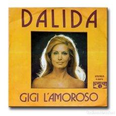 Discos de vinilo: DALIDA - GIGI L'AMOROSO . Lote 182454988