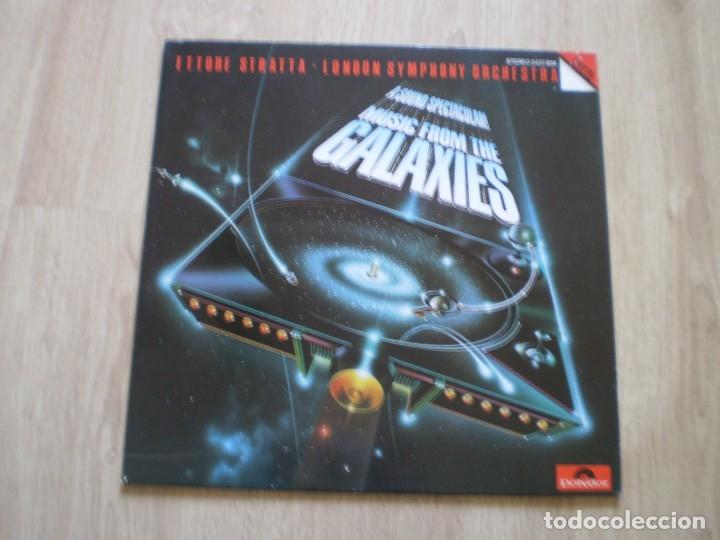 LP. ETTORE STRATTA. MUSIC FROM THE GALAXIES. BUENA CONSERVACION (Música - Discos - LP Vinilo - Electrónica, Avantgarde y Experimental)