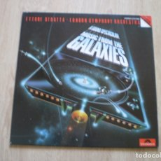 Discos de vinilo: LP. ETTORE STRATTA. MUSIC FROM THE GALAXIES. BUENA CONSERVACION. Lote 182463075