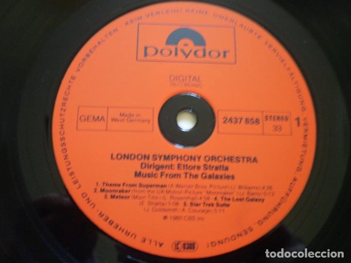 Discos de vinilo: LP. ETTORE STRATTA. MUSIC FROM THE GALAXIES. BUENA CONSERVACION - Foto 2 - 182463075