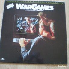 Discos de vinilo: WARGAMES. JUEGOS DE GUERRA. BUENA CONSERVACION. Lote 182464377