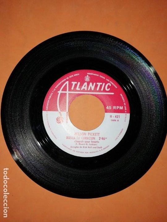 Discos de vinilo: WILSON PICKETT. HEY JUDE. BUSCA TU CORAZON. ATLANTIC 1969 - Foto 3 - 182465885