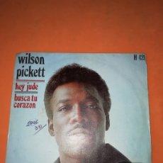 Discos de vinilo: WILSON PICKETT. HEY JUDE. BUSCA TU CORAZON. ATLANTIC 1969. Lote 182465885