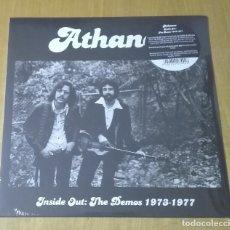 Discos de vinilo: ATHANOR - INSIDE OUT: THE DEMOS 1973-1977 (LP 2014, GUERSSEN GUESS136) NUEVO Y PRECINTADO. Lote 217229377